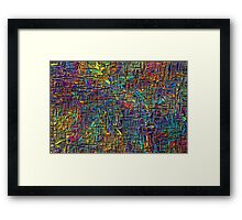 Colour Match Series #3 Framed Print