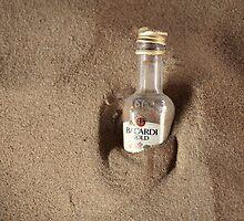 Sun. Sand...Bacardi. by Andrea Morris