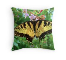 Tattered Tails Throw Pillow