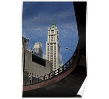New York City - Woolworth Building Poster