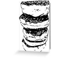 Doughnut Stack Greeting Card