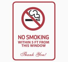 No Smoking Sign by avdesigns