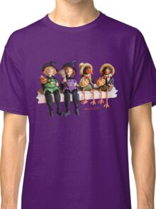 Tell Us A Happy Halloween Story! Classic T-Shirt