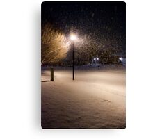 Peaceful Snowstorm Canvas Print