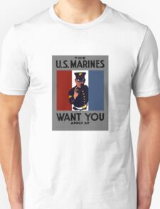 The U.S. Marines Want You T-Shirt