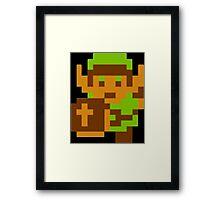 Retro Link Framed Print