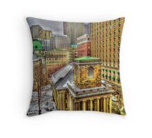 King's Chapel, Boston MA Throw Pillow