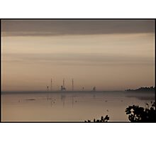 Space Shuttle Launch Pads Photographic Print