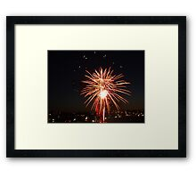 New years eve Framed Print