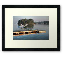 Safe Harbor--Yankee Pride Framed Print