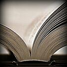 An open book by Karen Tregoning
