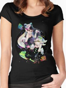 SQUID SISTERS Women's Fitted Scoop T-Shirt