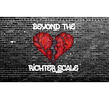 Beyond the Richter Scale Photographic Print