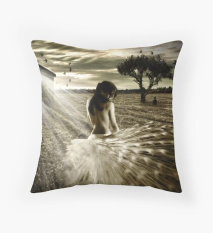Shattered Promises Throw Pillow