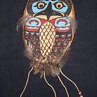 Northwest Native Influence of owl by Jennifer Ingram