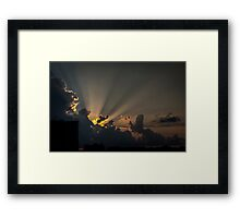 Rays by Nature Framed Print