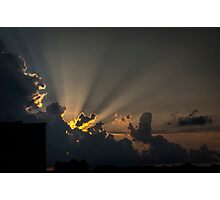 Rays by Nature Photographic Print