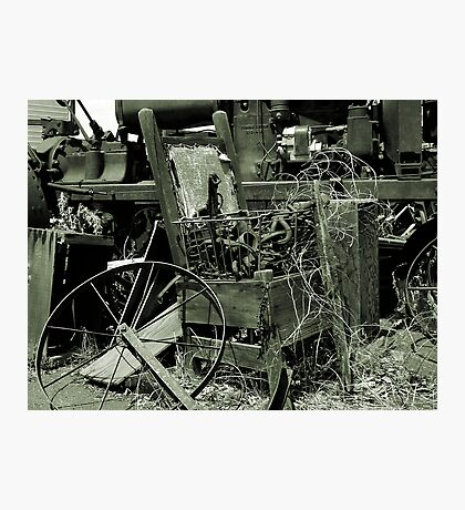 An Old Chair Photographic Print