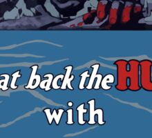 Beat Back The Hun With Liberty Bonds -- WWII Sticker