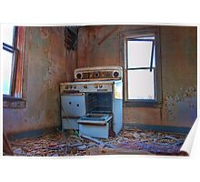Sunlight Reflecting on the Stove, Mead Colorado Poster