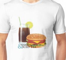 Hamburgers & Iced Tea Unisex T-Shirt
