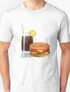 Hamburgers & Iced Tea T-Shirt