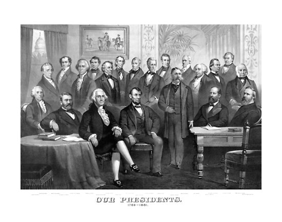 Our Presidents 1789 - 1881 -- US History by warishellstore