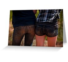 Two bums! Greeting Card