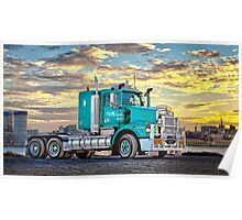 Toll Energy. Kenworth T658 Poster