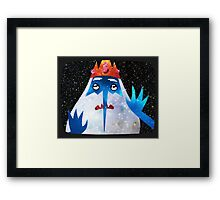 Adventure Time - Ice King 2 - TV Framed Print