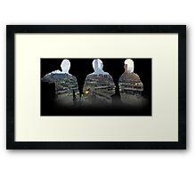 Franklin, Michael and Trevor Framed Print