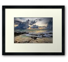 Stormy Horizons - Cocos (Keeling) Islands Framed Print