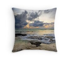 Stormy Horizons - Cocos (Keeling) Islands Throw Pillow