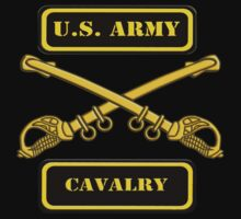 US Army Cavalry T-Shirt by Walter Colvin