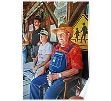 Sittin on the Porch Poster