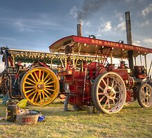 Showmans engines at the fair by Rob Hawkins