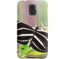 Zebra Longwing Butterfly Samsung Galaxy Case/Skin