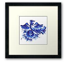 Blue bird Framed Print