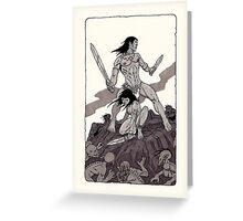 Besieged   Greeting Card