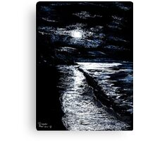 Cool Seas Canvas Print