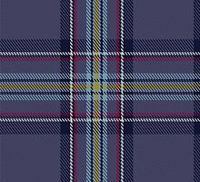 00468 Blue Toon District Tartan  by Detnecs2013