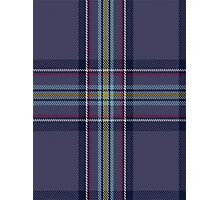 00468 Blue Toon District Tartan  Photographic Print