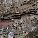 the Suspended Temple, Shanxi province, Northern China.  by geof