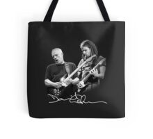 David Gilmour young and old Tote Bag