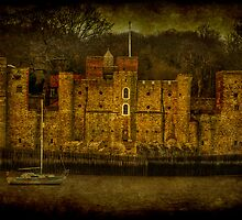 Upnor Castle by JMHPhotography