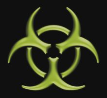 Biohazard - Small logo (Green) by Colin Wilson