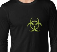 Biohazard - Small logo (Green) Long Sleeve T-Shirt