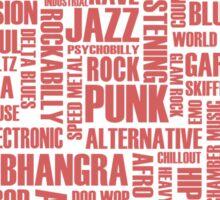 I love music - part 2 Sticker