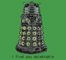 I find you dalektable by gerardxxirwin