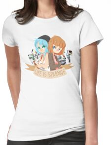 Life Is Strange duo Womens Fitted T-Shirt